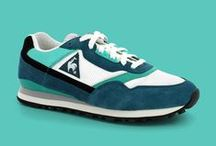 LE COQ SPORTIF RETRO RUNNING / Le coq sportif have produced running product since the early 1980's, with models such as the Eclat utilising technical specifications such as heel cushioning and D-ring speed lacing systems indicative of the era. The early 1990's saw the arrival of models such as the LCSR1000, which introduced compression moulded sole units, adding increased comfort and support for runners.  The retro running collection can be found in stores and on http://www.lecoqsportif.com/uk-en/retrorunning from now.
