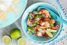 Food: Salads / Salad recipes.