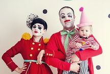 Circus Party Costumes / Circus and carnival party masks, make-up and hair ideas and costumes.