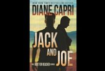 """Jack and Joe: The Hunt for Jack Reacher Series / Jack and Joe is the 6th book in Diane Capri's Hunt for Jack Reacher Series of thrillers. In Jack and Joe, FBI Agents Otto and Gaspar pick up where Lee Child's """"The Enemy"""" leaves off in the Hunt for Jack Reacher. http://dianecapri.com/books/hunt-jack-reacher-series/jack-and-joe/"""