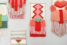DIY: Weaving / Weaving DIYs and inspiration