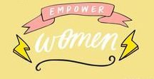 Feminism / Feminism and craftivism: empower each other, help each other grow, make crafts that raise awareness, build a community and create an emancipation support system with your network! <3 // This is supposed to be an encouraging and pretty collection of anything related to feminism. Go ladies! // Feminismus / Emanzipation.