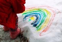 Winter Outdoor Kids Activities / by Robin B