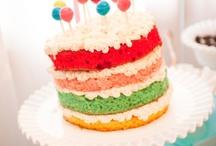 Rainbow Birthday Party / by Robin B