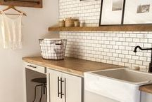 Laundry Room / Fun laundry room ideas to spruce up such a utilitarian space.
