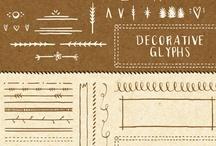 Printables/Fonts / by Makiko H