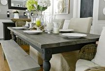 Dining Room / Dining room decor ideas.