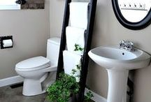 Bathroom / Bathroom decor and storage ideas.