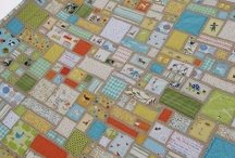 quilts: ticker tape and string quilts