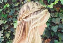 """Pretty Hair Obsession. / ...Or, as my dad puts it, """"hair braids"""". / by Kelsey Widman"""