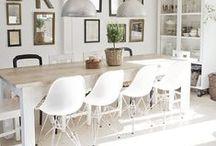 Dining Room Makeover / Beautiful dining room ideas