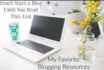 Blogging Information / Great tips and tid bits to help guide you through a blogger's life.