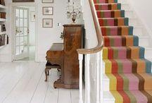 Hallway / Lots of beautiful hallway ideas.