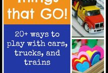 Activities - Cars, Trucks and Trains / by Shari B