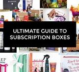 Subscription Boxes / Dedicated to subscription boxes of all kinds! Promo codes and free boxes too!