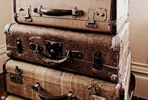 I  ♥ old suitcases