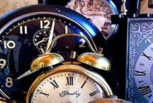 Collections / Three things.....whether it's clocks....plates....cups....books...whatever you like makes a collection.