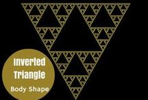 Inverted Triangle Body Shape / Style Tips for dressing your Inverted Triangle Body Shape / by Lisa McLatchie - Personal Stylist