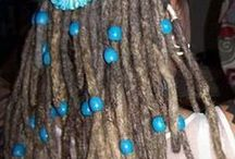 Dreadlock styling and decoration / Styles, colours, neat things... Dready way.