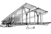 Sketches / #Architecture sketches - A dying skill