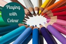 Playing with Colour / by Lisa McLatchie - Personal Stylist