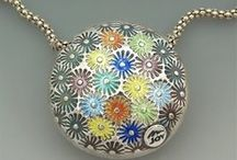 Enamel inspiration / Beautiful enamelled pieces of jewellery and other objects