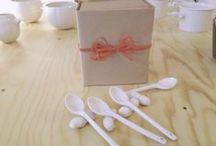 YUKIKO KITAHARA / Fabricación totalmente artesanal de piezas en porcelana para Neutra Ediciones