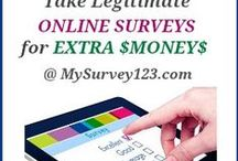 Online Surveys for Money / All articles/pins from MySurvey123.com. Including free online paid survey site/panel directories/lists, survey panel reviews, news/update, and advice/tips on how to take online surveys for money!