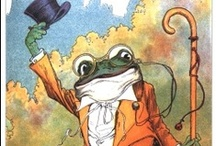 Frogs Dressed Up / by Angie Smits