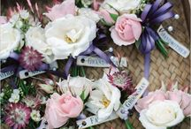 Ivory Pinks floral design