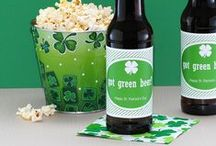 St. Patrick's Day / Personalized St. Patrick's Day labels, stickers, bottled water and more from BottleYourBrand.com  / by Bottle Your Brand