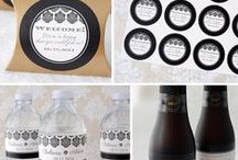 Wedding / Personalized wedding labels, stickers, bottled water and more from BottleYourBrand.com  / by Bottle Your Brand