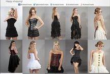 Steel Boned Overbust Corsets / Steel Boned Overbust corsets by Burleska. Look for more on http://www.burleska.co.uk/corsets/steel-boned.html