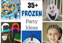 How to create the BEST FROZEN kids party... / ....without too much expense.