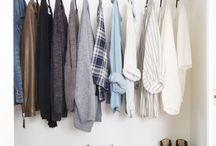 Wardrobe / Organizacja szafy, ubrań