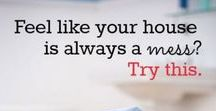Household Cleaning Tips / Tips and Tricks for household cleaning, chores, laundry, kitchen, bath