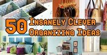 Organization Ideas / Ideas to organize your home, family, life
