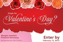 Valentine's Day Giveaway! / Morgan Jewelers is giving a Valentine's Day gift to the lucky individual who wins our contest! See the contest pin for details.