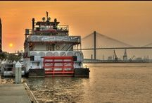 Travel: Savannah, GA / Best time to travel is February, October and November / by Kathy Sullivan