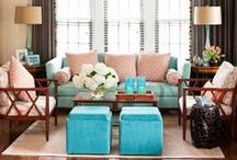 Lovely Living Rooms / We are absolutely in awe of these gorgeous spaces / by Rug Pad Corner