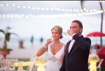 Real Wedding- Mary Ellen & Mike /  Real Wedding at Acqualina Resort & Spa. For information about events at Acqualina, please contact Kerry Harter at 305-918-6774 or at kerry.harter@acqualina.co / by Acqualina Resort & Spa on the Beach