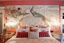 Decor: Pink/Red &3rd Color / by Kathy Warren