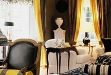 Decor:Black/White&Yellow / by Kathy Warren