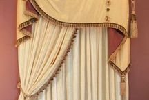DRAPES,FABRIC FOR DRAPES,ETC. / by Kathy Warren