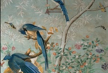 WALLPAPER, MURALS & THEIR BEAUTY / by Kathy Warren