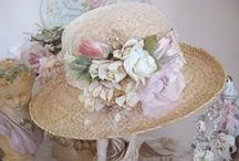 ♡ Beautiful Vintage Millinery ♡ / Beautiful hats and flowers used in the past for many things / by Toynette