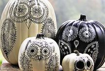 Pumpkin Luv - Carved, painted and/or Decorated / Halloween deight / by Christine Jellybean