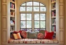WINDOW SEATS & NOOKS FOR READING AND DAYDREAMING
