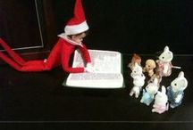 Elf / that naughty little xmas elf! / by Christine Jellybean