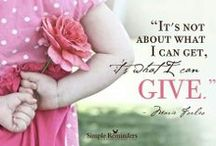 ♡ A Giving Heart ♡ / by Toynette